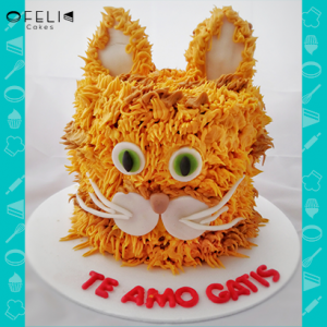 Torta de Gato Persa en Bogotá