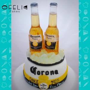Torta Cerveza Corona en Bogotá