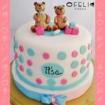Torta niño o niña en Bogotá