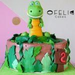 Torta de Dinosaurio TRex en Bogotá