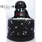 Torta de Star Wars Dark Vader