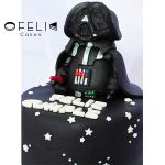 Torta de Star Wars Dark Vader 2