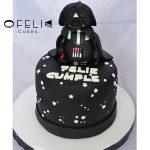 Torta de Star Wars Dark Vader 3