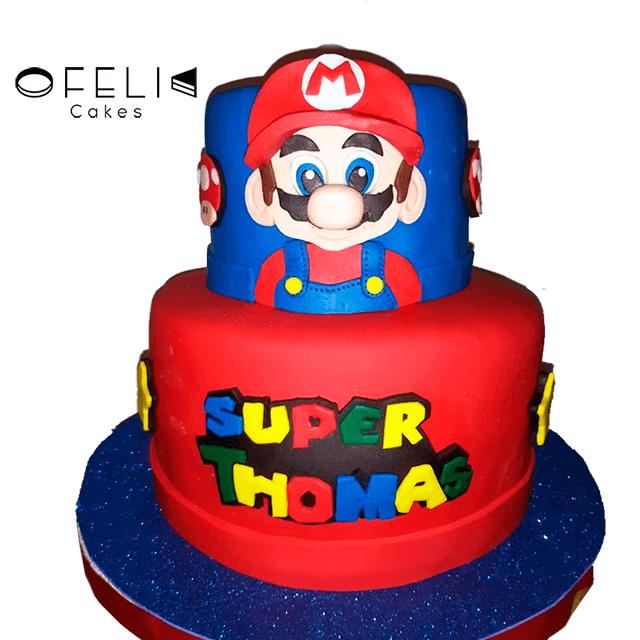 Torta de Mario Bross Personalizada