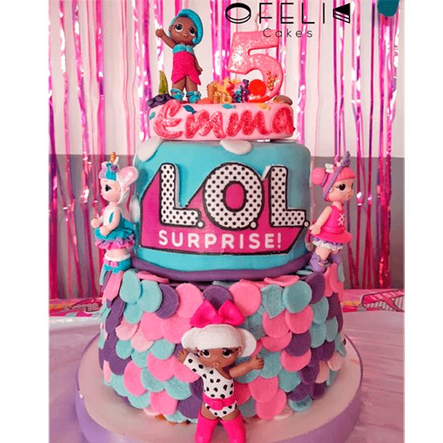 Torta de Muñecas LOL