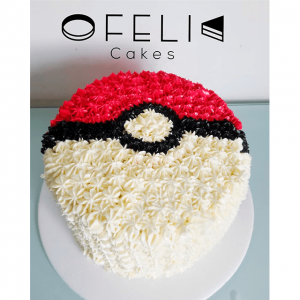 Torta de Pokemon Ball