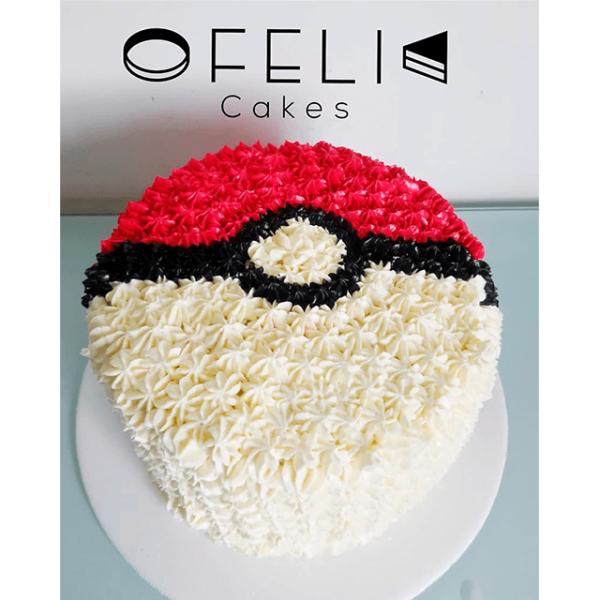 Torta de Pokemon Ball